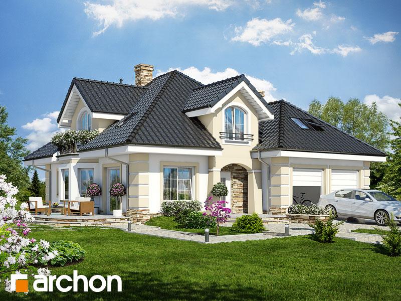 Проект дома ARCHON+ Дом в дуброве (Г2) Вид 1