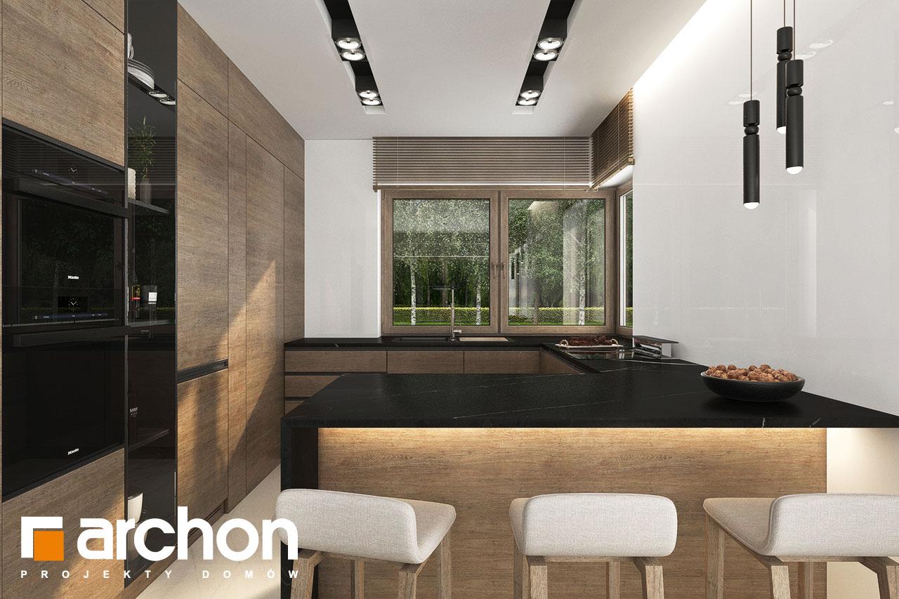 Проект будинку ARCHON+ Вілла Міранда 9 (Г2) візуалізація кухні 1 від 1