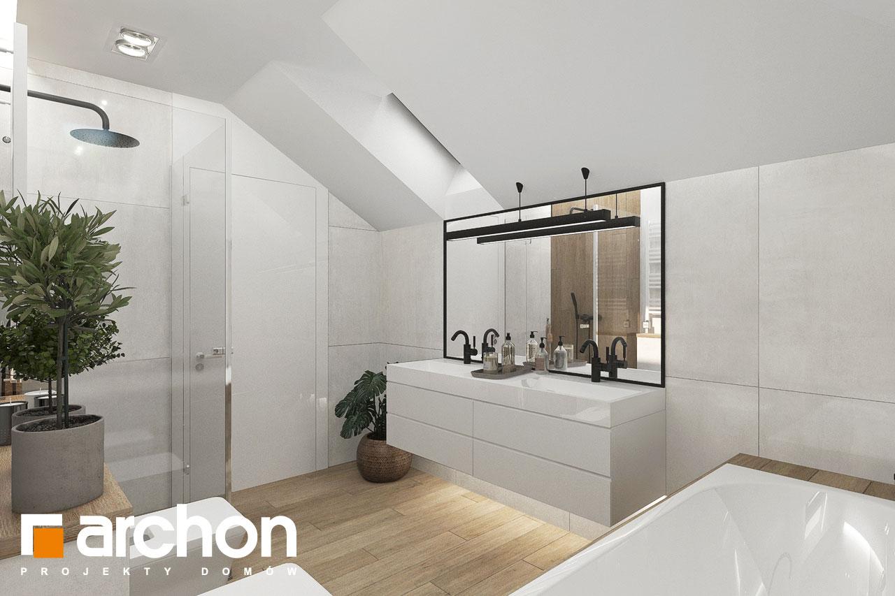 Проект будинку ARCHON+ Вілла Міранда 9 (Г2) візуалізація ванни (візуалізація 3 від 2)