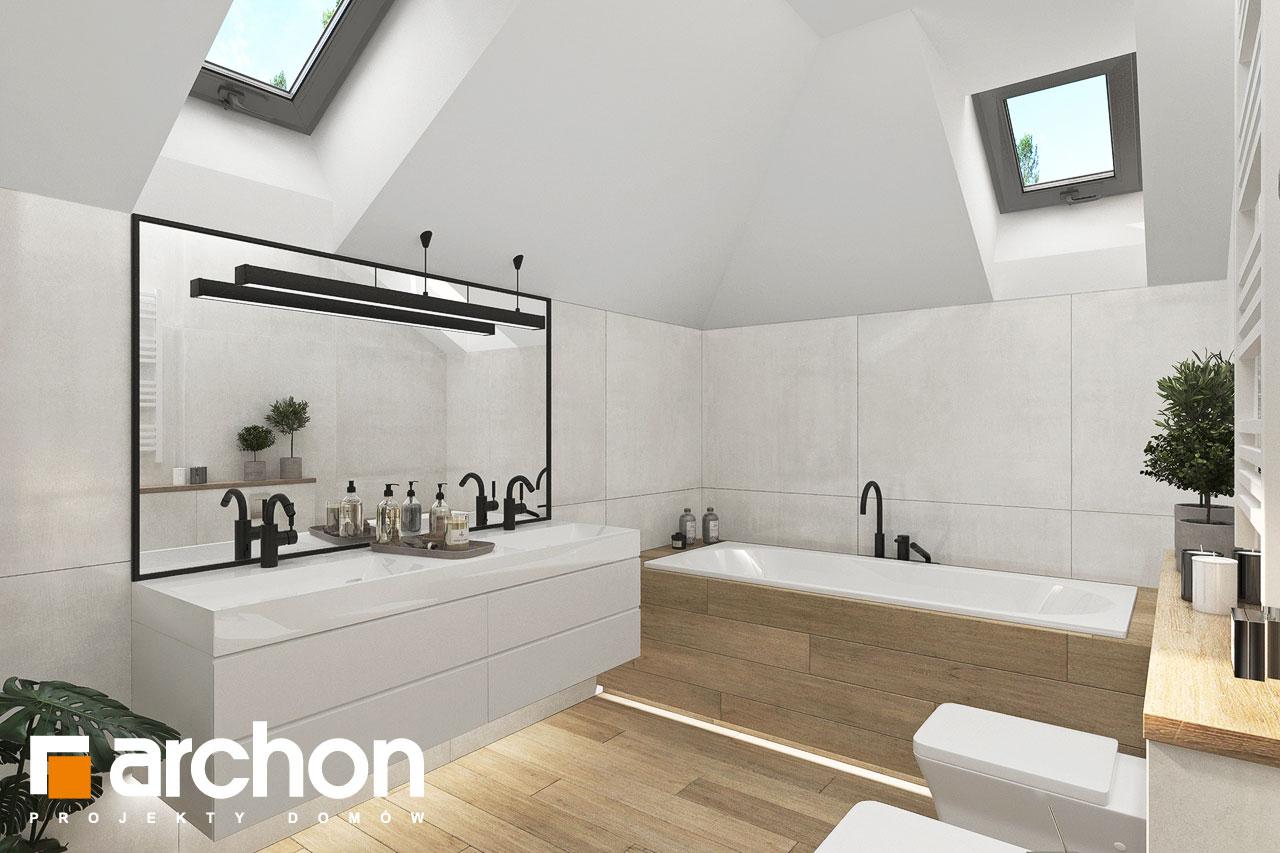 Проект будинку ARCHON+ Вілла Міранда 9 (Г2) візуалізація ванни (візуалізація 3 від 4)