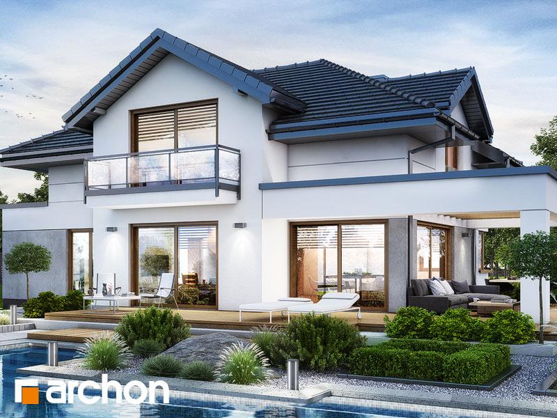 Проект будинку ARCHON+ Вілла Міранда 9 (Г2) Вид 1