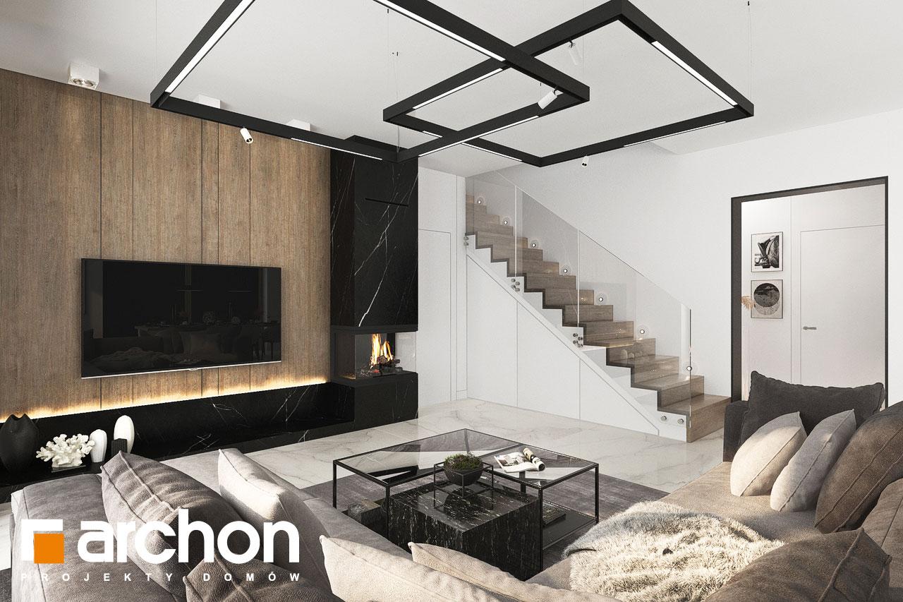 Проект будинку ARCHON+ Вілла Міранда 9 (Г2) денна зона (візуалізація 1 від 2)