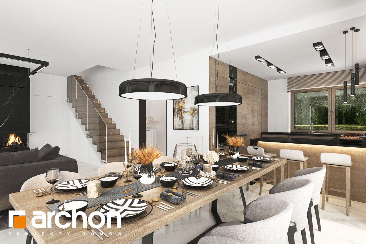 Проект будинку ARCHON+ Вілла Міранда 9 (Г2) денна зона (візуалізація 1 від 7)