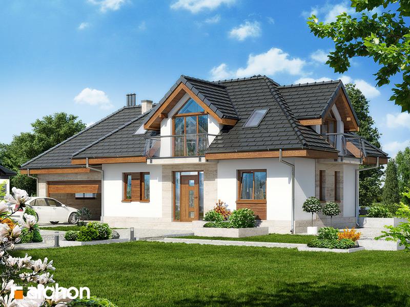 Проект будинку ARCHON+ Будинок в алое 3 стилізація 3