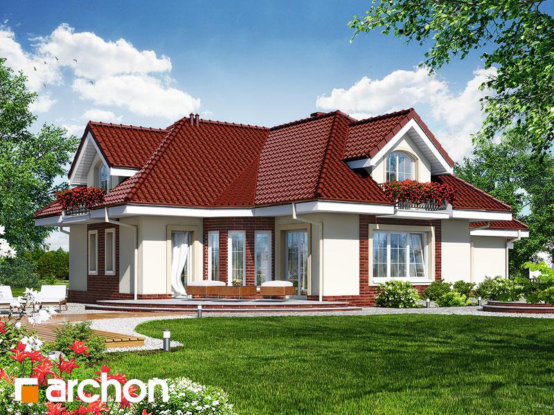 Проект будинку ARCHON+ Будинок в алое 3 Вид 2