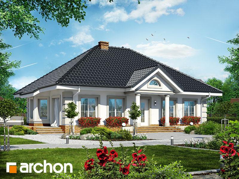 Проект будинку ARCHON+ Будинок під червоною горобиною 4 Вид 1