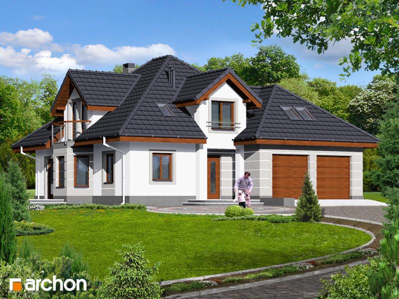 Проект будинку ARCHON+ Будинок в зірках (Г2) стилізація 3