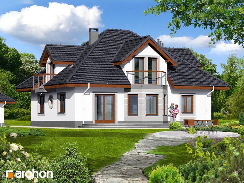 Проект будинку ARCHON+ Будинок в зірках (Г2) стилізація 4