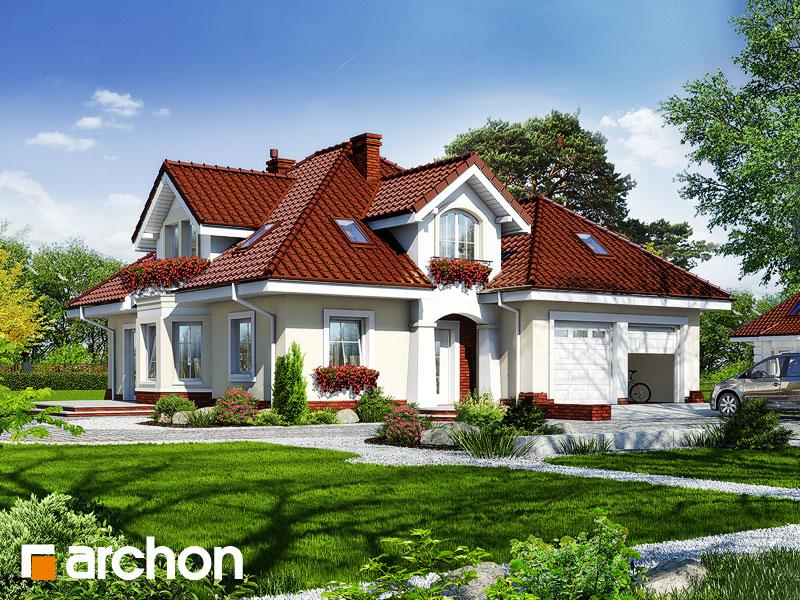 Проект будинку ARCHON+ Будинок в зірках (Г2) Вид 1