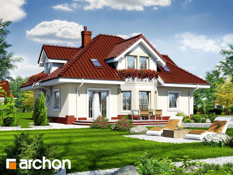 Проект будинку ARCHON+ Будинок в зірках (Г2) Вид 2