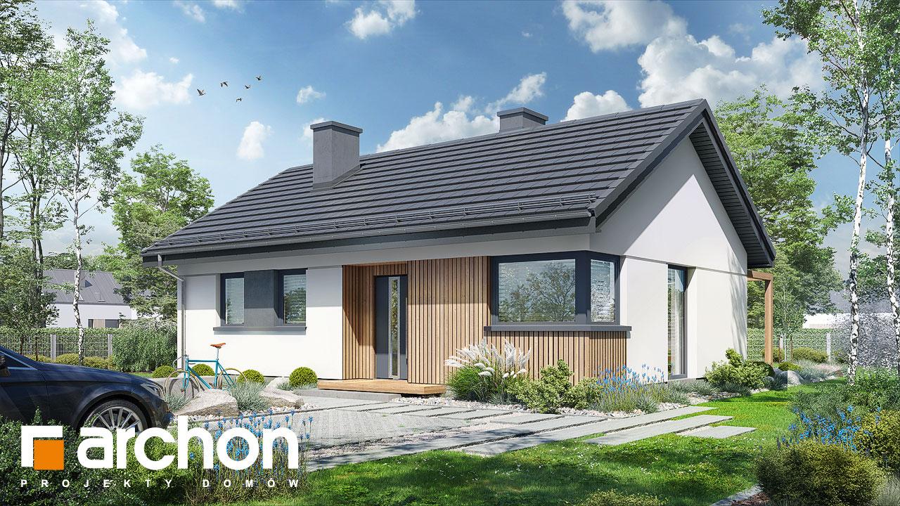 Проект будинку ARCHON+ Будинок у черешні 2 Вид 2