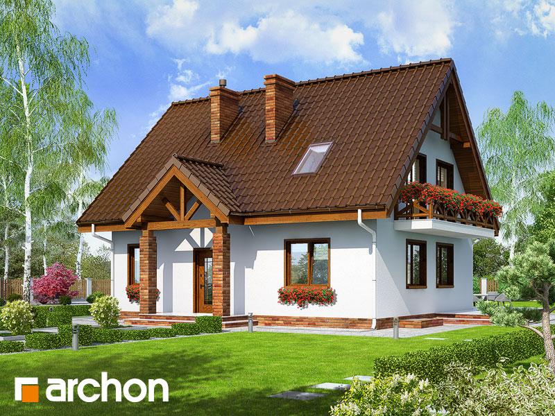 Проект будинку ARCHON+ Будинок в примулах (П) Вид 1