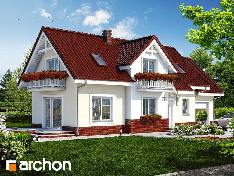 Проект будинку ARCHON+ Будинок в люпині Вид 1