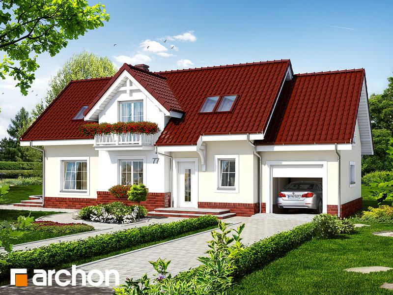 Проект будинку ARCHON+ Будинок в люпині Вид 2