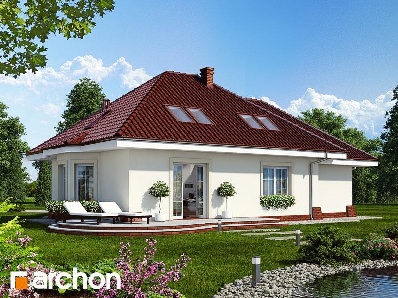 Проект будинку ARCHON+ Будинок в лотосах (Г) Вид 2