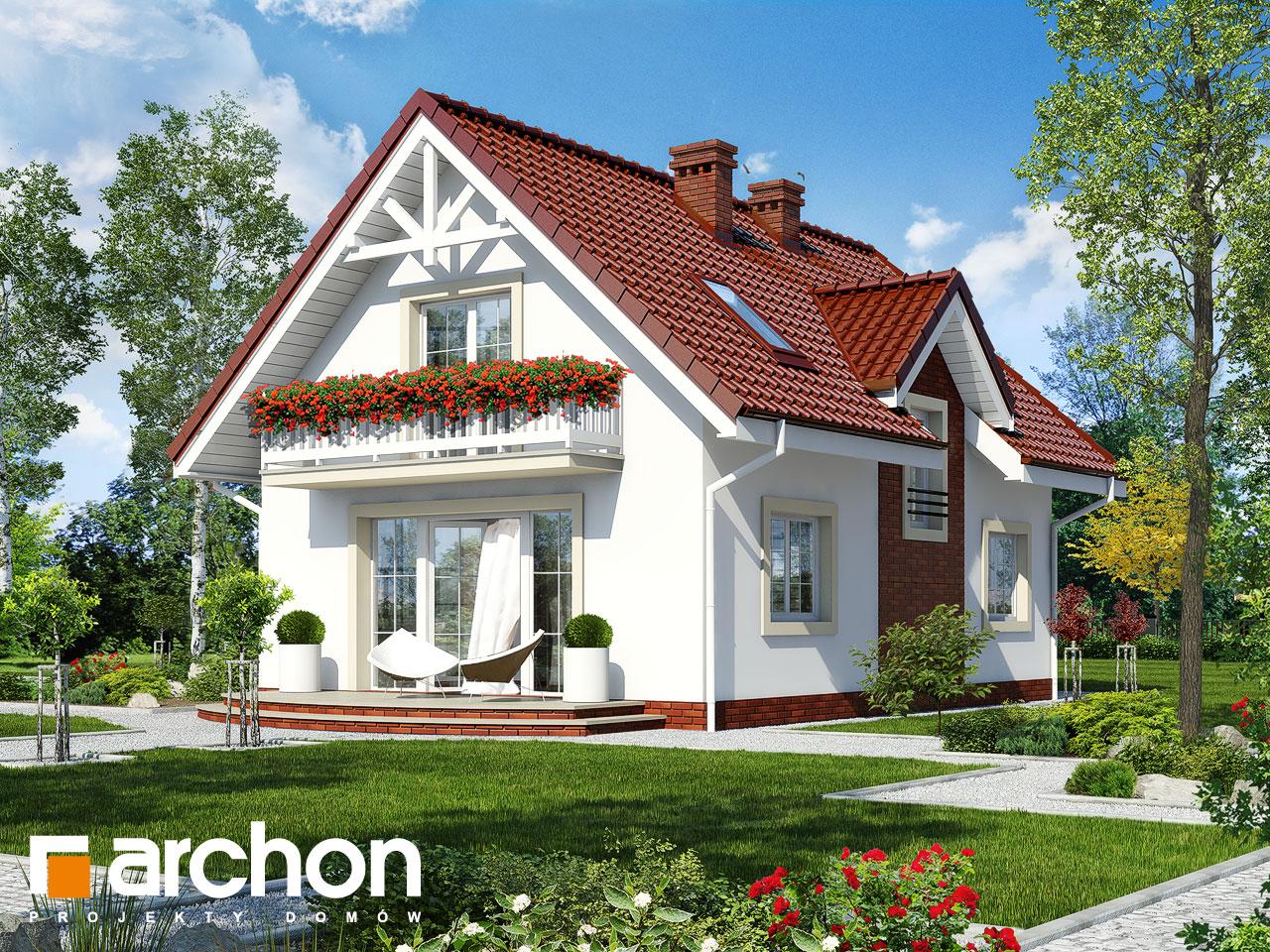 Проект будинку ARCHON+ Будинок в кориандрі 2 (Г) Вид 2