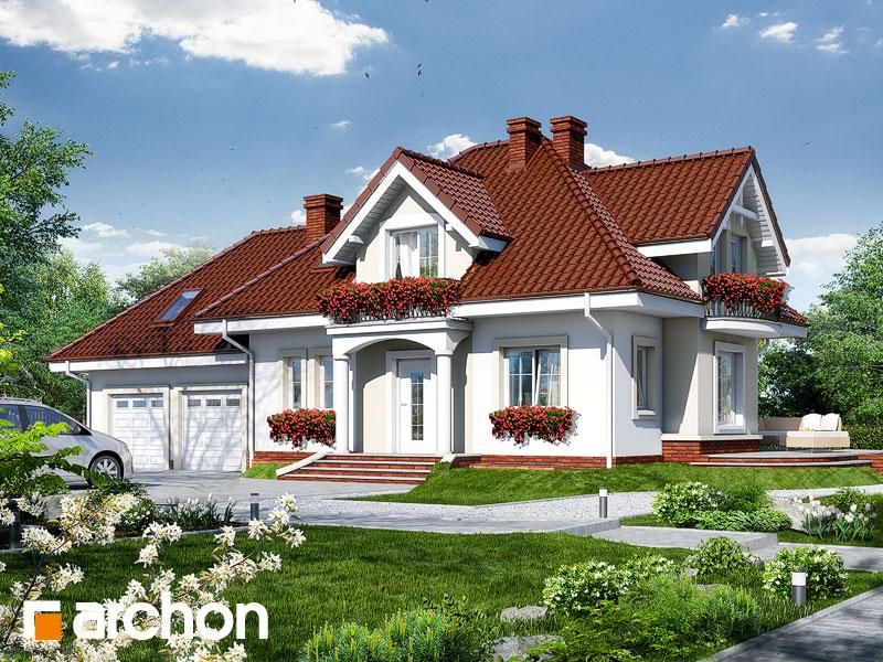 Проект будинку ARCHON+ Будинок у вербені (Г2П) Вид 1