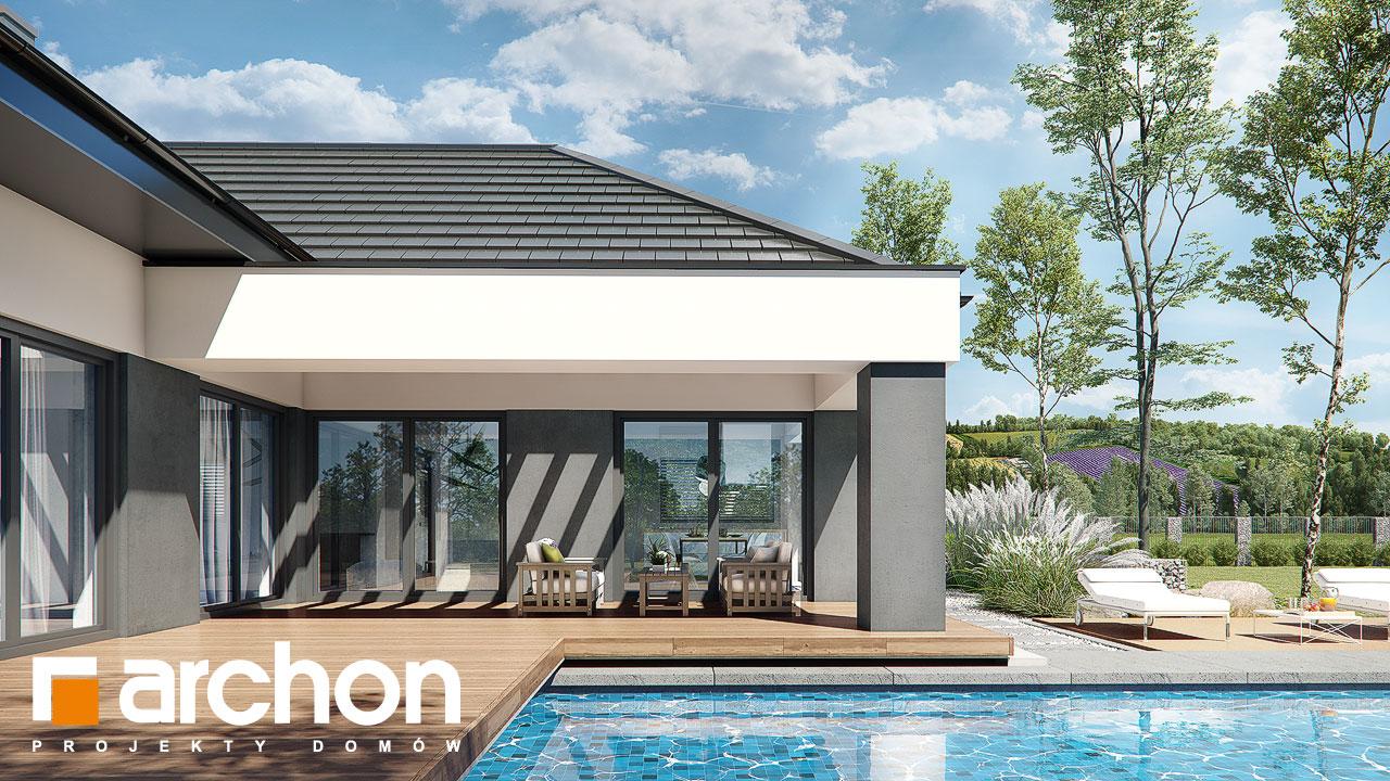 Проект будинку ARCHON+ Будинок в жимолості 2 (Г2) додаткова візуалізація