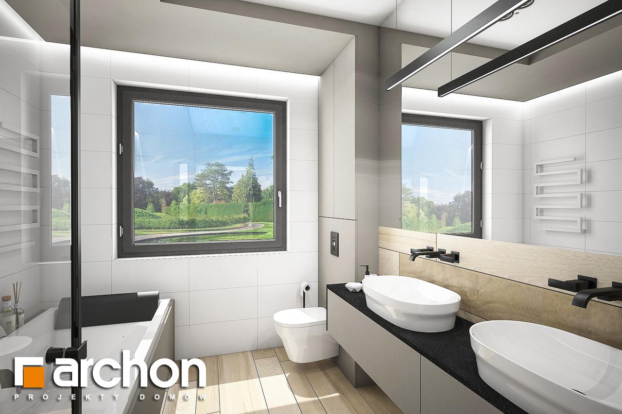 Проект будинку ARCHON+ Будинок в жимолості 2 (Г2) візуалізація ванни (візуалізація 3 від 1)