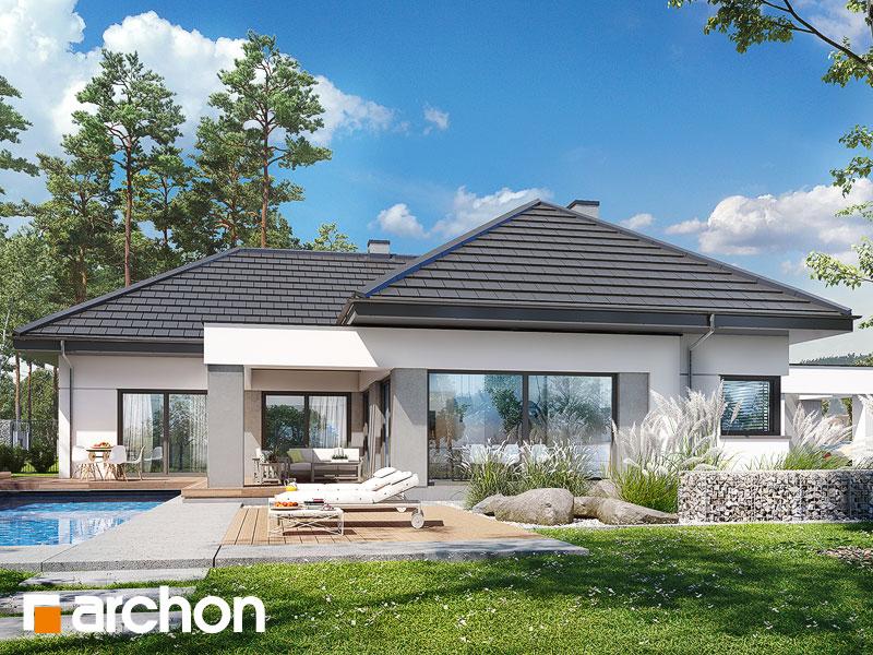 Проект будинку ARCHON+ Будинок в жимолості 2 (Г2) Вид 1