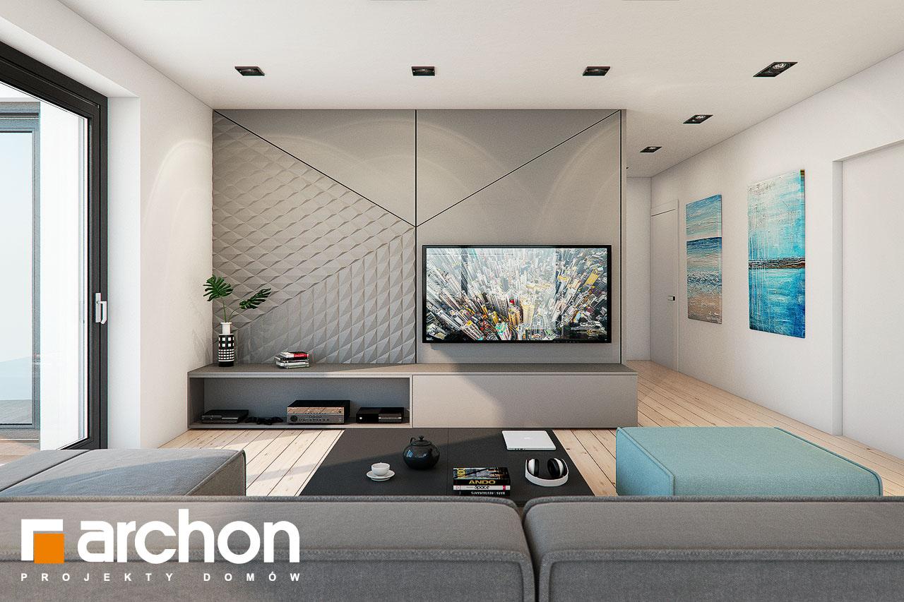 Проект будинку ARCHON+ Будинок в жимолості 2 (Г2) денна зона (візуалізація 1 від 1)