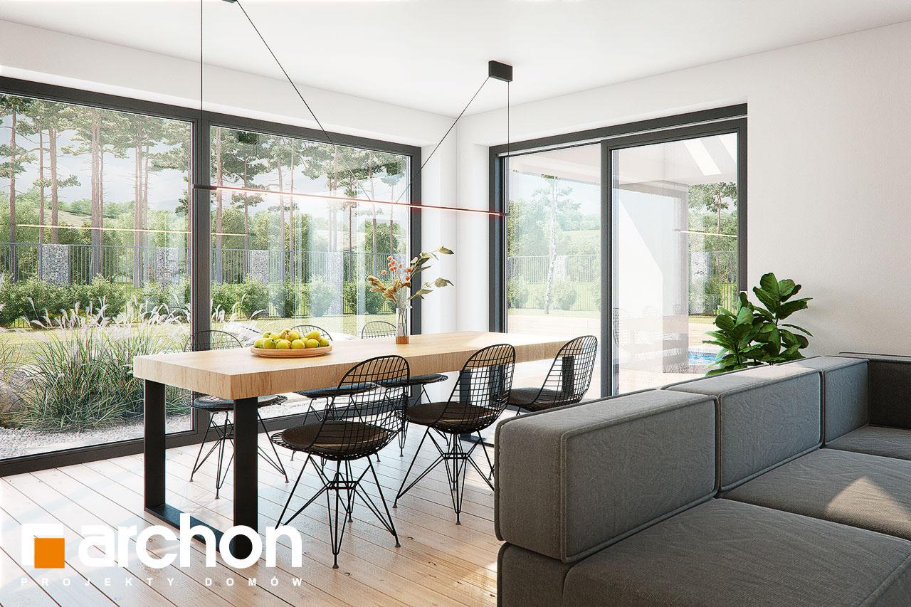 Проект будинку ARCHON+ Будинок в жимолості 2 (Г2) денна зона (візуалізація 1 від 4)