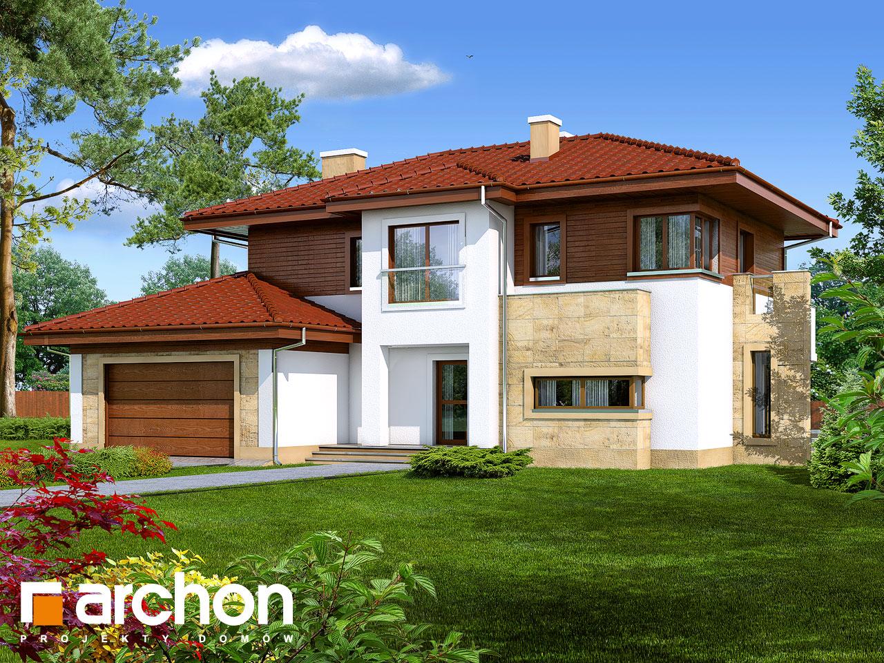 Проект будинку ARCHON+ Вілла Вікторія Вид 2