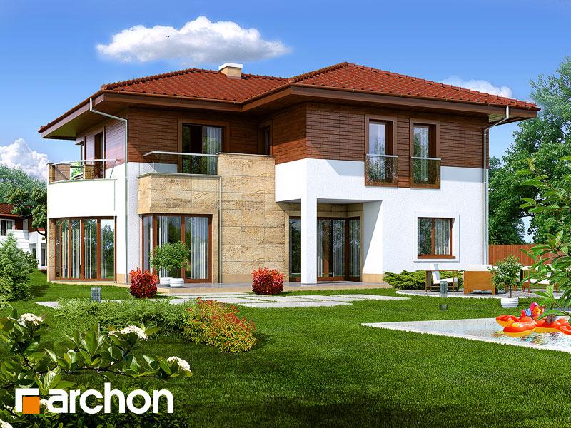 Проект будинку ARCHON+ Вілла Вікторія Вид 1