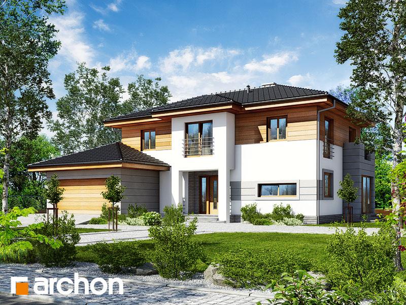 Проект дома ARCHON+ Вилла Александра Вид 1