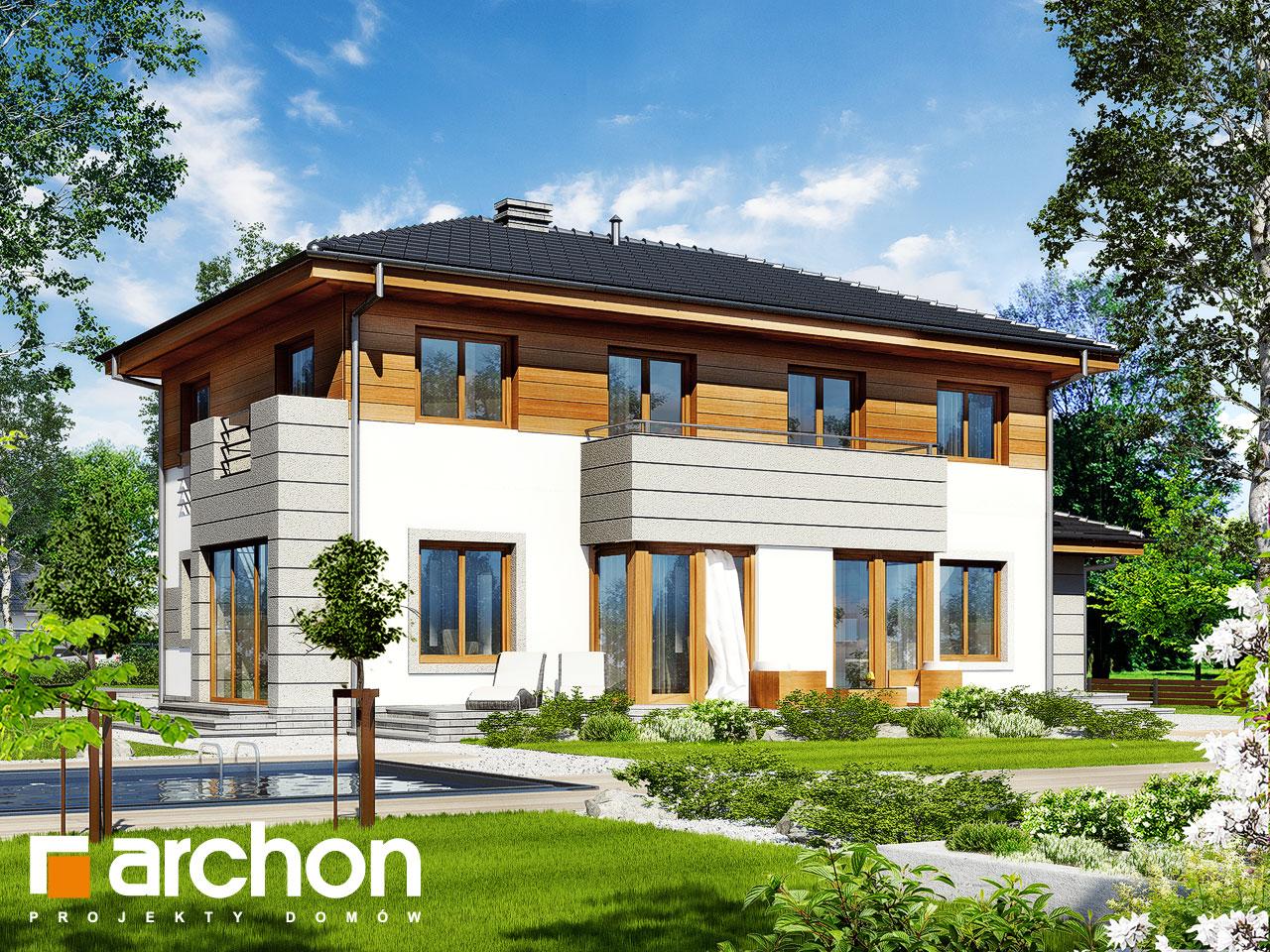 Проект будинку ARCHON+ Вілла Олександра Вид 2