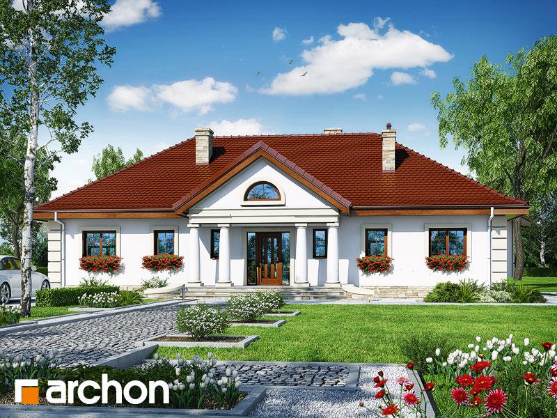 Проект будинку ARCHON+ Будинок під осикою  Вид 1