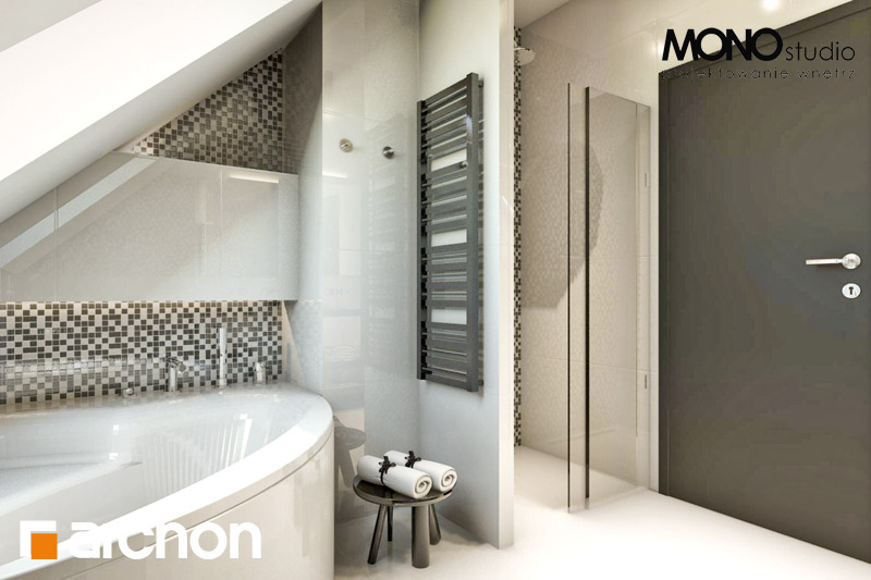 Проект будинку ARCHON+ Будинок в авокадо (Г) візуалізація ванни (візуалізація 3 від 3)