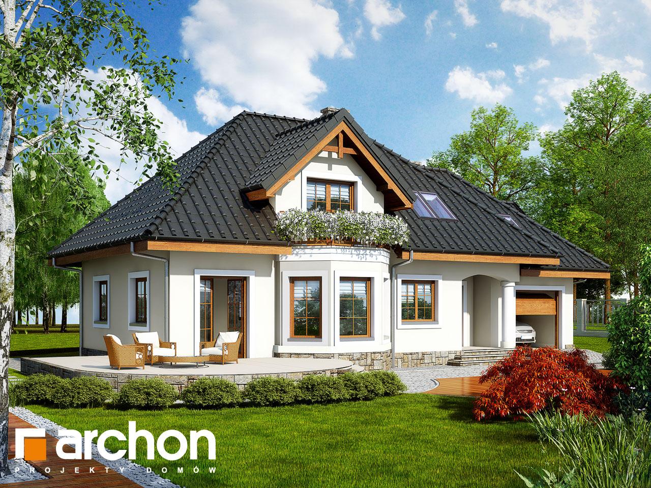 Проект будинку ARCHON+ Будинок в авокадо (Г) Вид 2