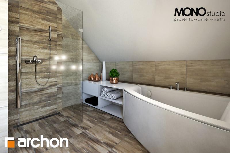 Проект дома ARCHON+ Дом в люцерне визуализация ванной (визуализация 1 вид 2)