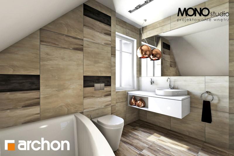 Проект дома ARCHON+ Дом в люцерне визуализация ванной (визуализация 1 вид 3)