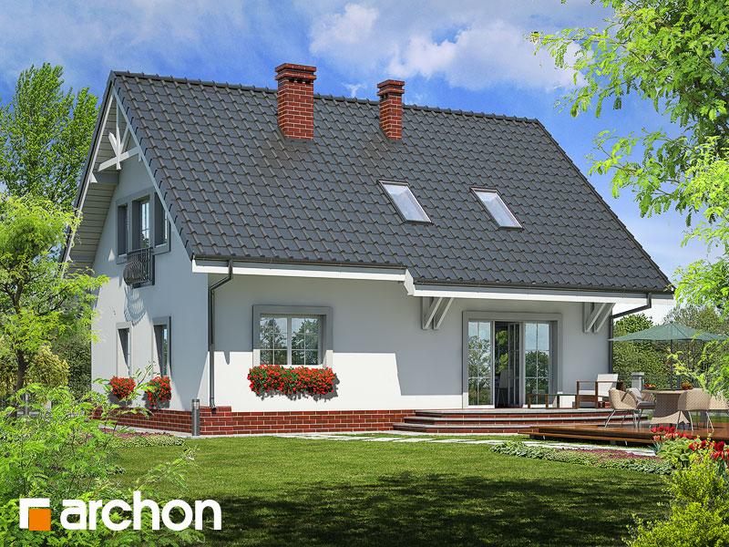 Проект дома ARCHON+ Дом в люцерне Вид 2