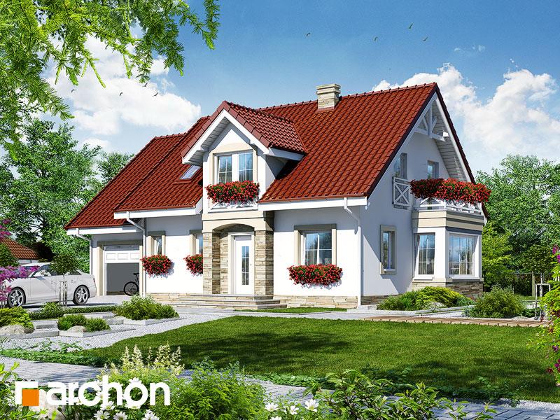 Проект будинку ARCHON+ Будинок в сезамі Вид 1