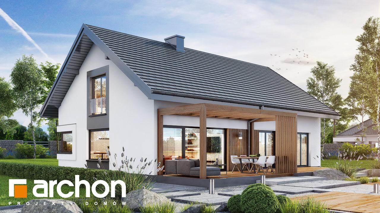 Проект будинку ARCHON+ Будинок під червоною горобиною 20 додаткова візуалізація