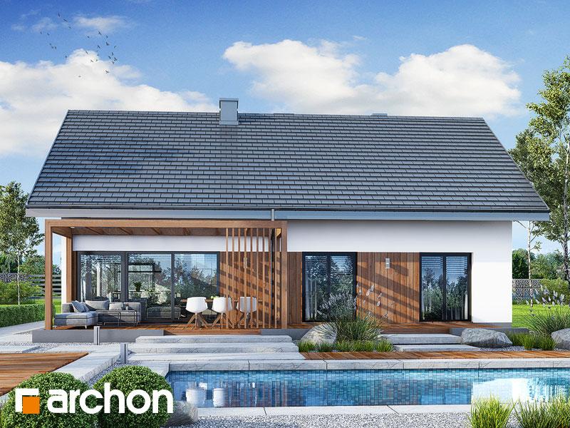 Проект будинку ARCHON+ Будинок під червоною горобиною 20 Вид 1