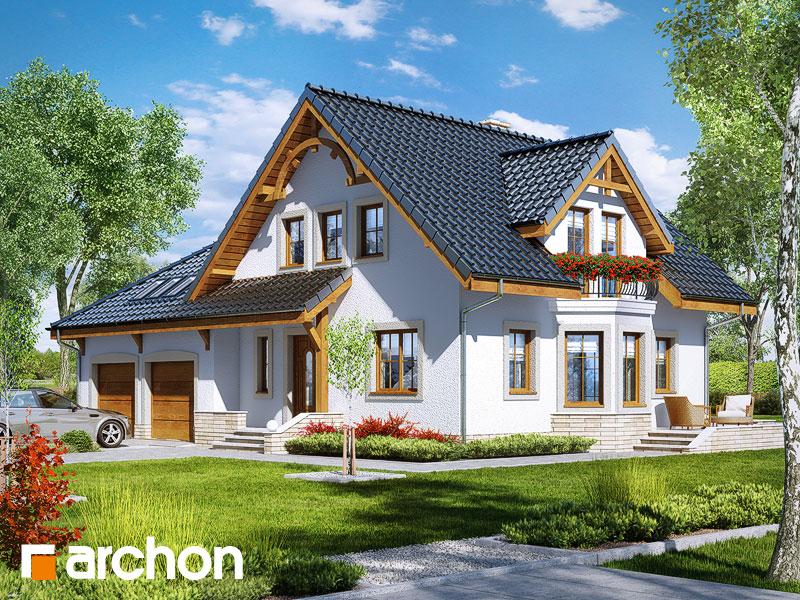Проект будинку ARCHON+ Будинок в тамариску 2 (Г2) Вид 1