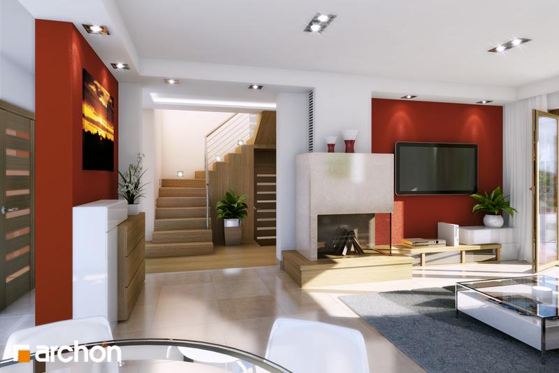 Проект будинку ARCHON+ Будинок в тамариску 2 (Г2) денна зона (візуалізація 1 від 1)