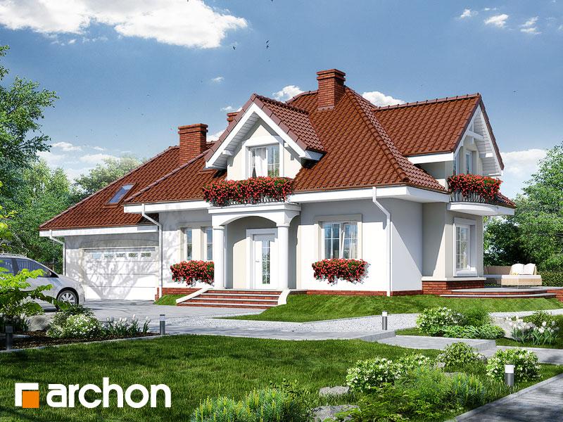 Проект будинку ARCHON+ Будинок у вербені (Г2) Вид 1