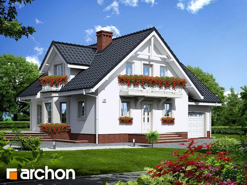 Проект будинку ARCHON+ Будинок в рододендронах 5 (П) Вид 1