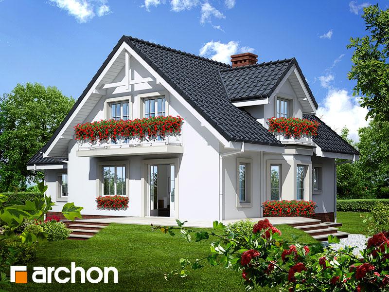 Проект будинку ARCHON+ Будинок в рододендронах 5 (П) Вид 2