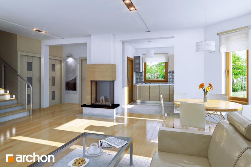 Проект будинку ARCHON+ Будинок в рододендронах 5 (П) денна зона (візуалізація 1 від 1)