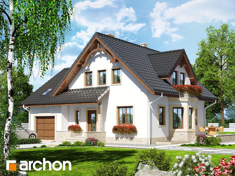 Проект будинку ARCHON+ Будинок в тамариску 2 (П) Вид 1