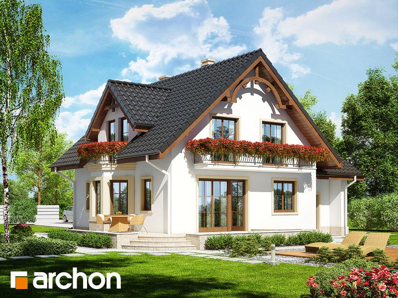 Проект будинку ARCHON+ Будинок в тамариску 2 (П) Вид 2