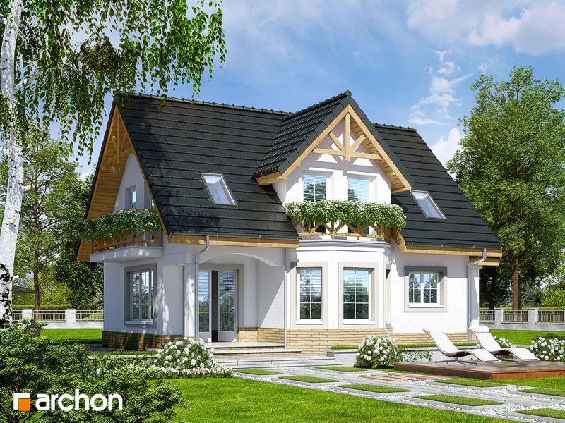Проект будинку ARCHON+ Будинок в журавлині (П) стилізація 2