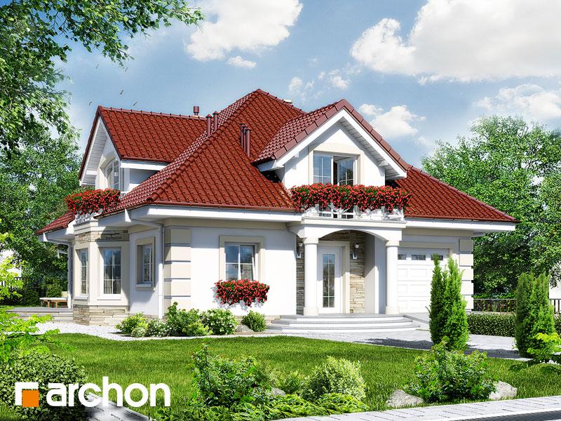 Проект будинку ARCHON+ Будинок в тим'яні 3 Вид 1