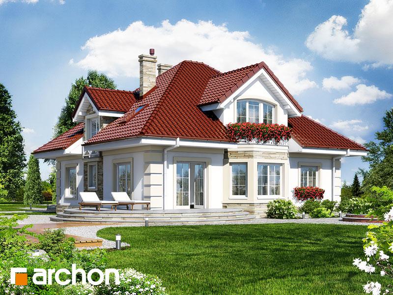 Проект будинку ARCHON+ Будинок в тим'яні 3 Вид 2